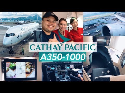Ultimate Experience! Cathay Pacific A350-1000 Business Class CX 777 Hong Kong - Jakarta thumbnail