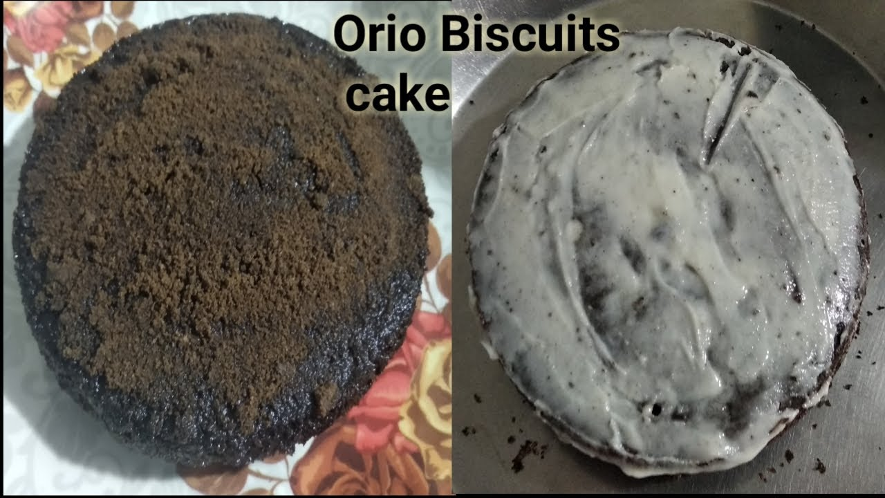 OREO Biscuit Cake in five minutes | Oreo बिस्कुट से बनाए टेस्टी केक |  Biscuits cake