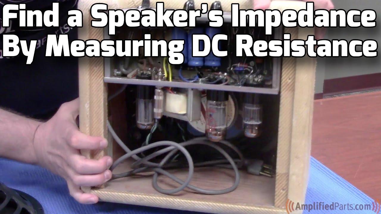 ohm speaker cab wiring [ 1280 x 720 Pixel ]
