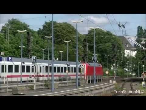 Vertrek DB 101 + IC rijtuigen Station Bonn