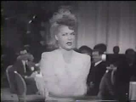 BETTY HUTTON  Let's Face It