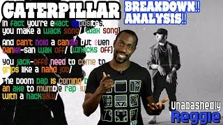 Eminem's Caterpillar Verse - Lyrics/Bars Breakdown | REACTION! ANALYSIS!
