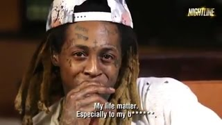 "Lil Wayne SLAMS  Black Lives Matter Movement ... "" MY LIFE MATTERS """