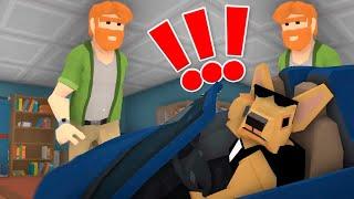 Симулятор собаки Выселяю человека из дома в игре Operation Sniff