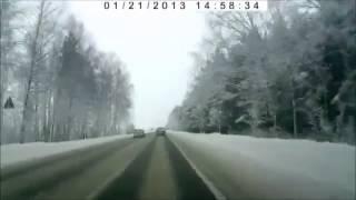 5 Аварий - 5 Сrashes (21.01.2013) Ежедневная подборка ДТП