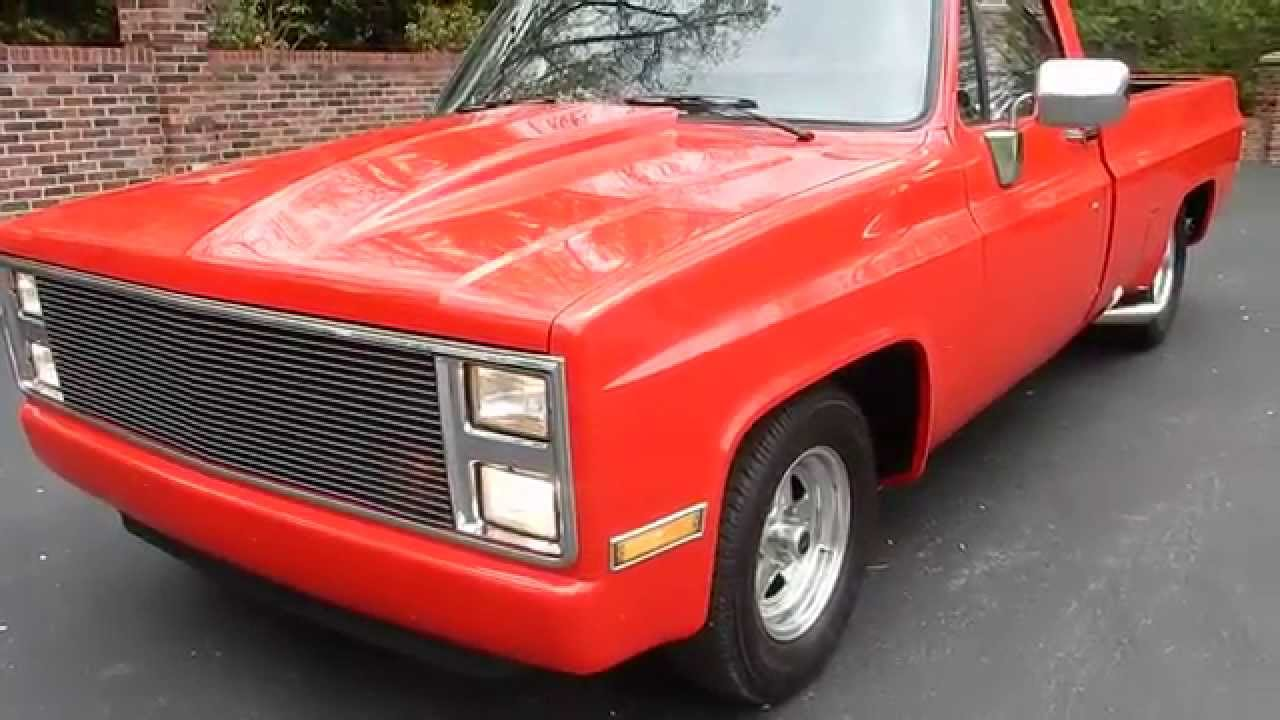 Truck 1977 chevy truck hood : 1986 Chevy Pickup Pro Street for sale Old Town Automobile in ...