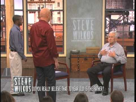 Do You Really Believe That 70 Year Old Is The Father? (The Steve Wilkos Show)