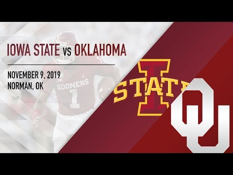 OU Highlights Vs Iowa State (11/09/2019)
