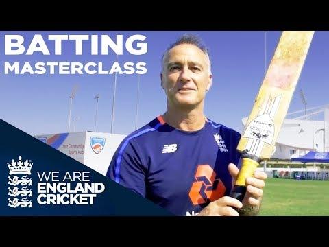 How Do You Play Spin Bowling? | Batting Masterclass | Graham Thorpe's Batting Tips