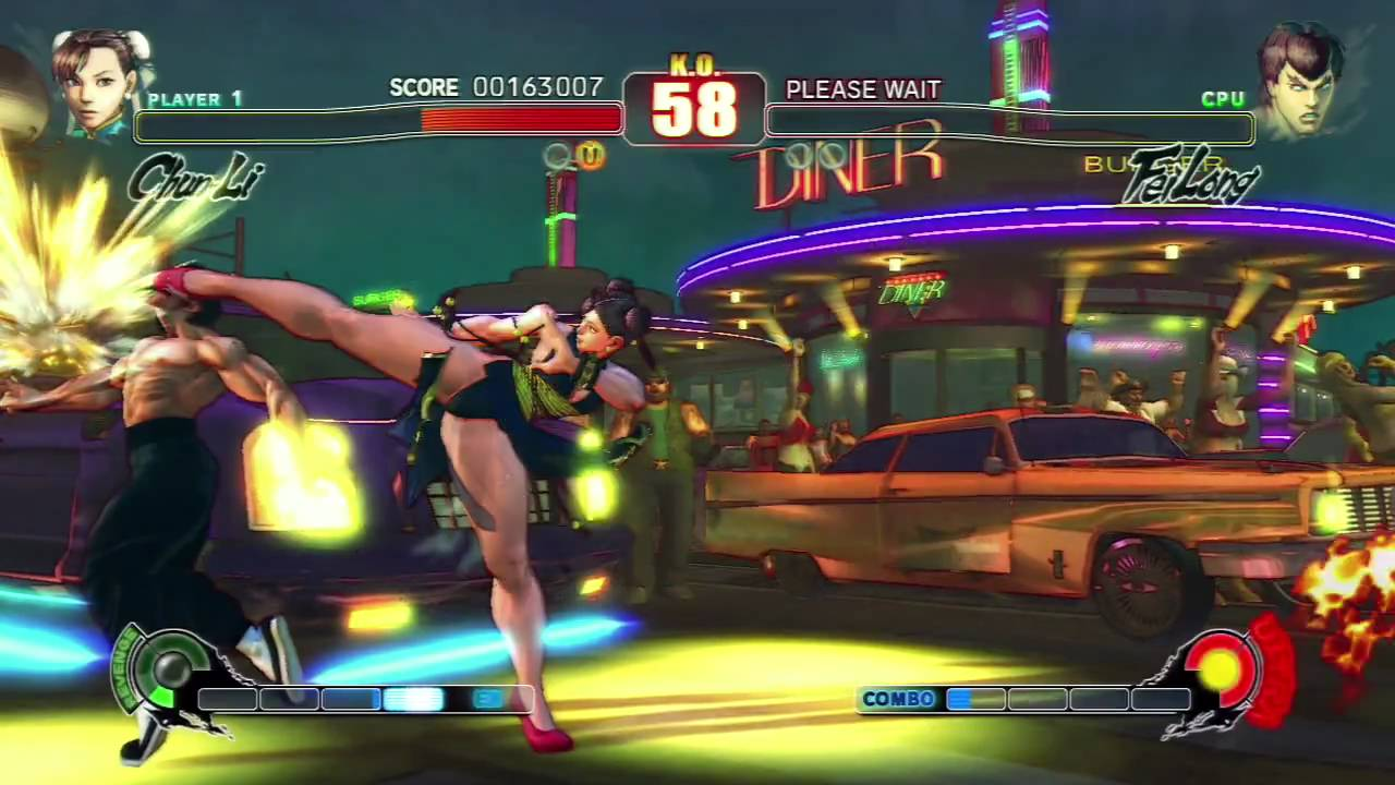 Street fighter 2 chun li vs vega uncensored hd - 2 6