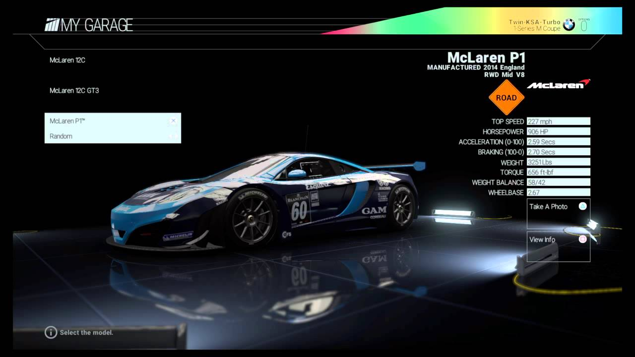 Project CARS PS4 Full Car List - YouTube