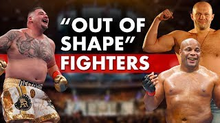 History Of Out Of Shape Fighters in MMA & Combat Sports