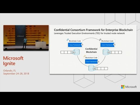 An introduction to Blockchain with Mark Russinovich - BRK2049