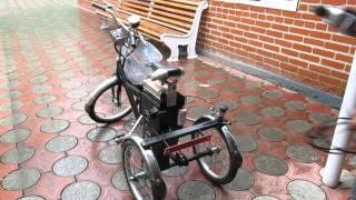 Электроелосипеды. Самодельные устройства часть 2.(Самодельное устройство крепящееся к задней вилке велосипеда посредством болтов. Устройство рассчитано..., 2015-05-23T05:10:28.000Z)