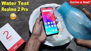 Water Test Realme 2 Pro🔥🔥 - Will it Survive or Dead???