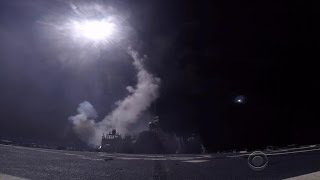 Behind the scenes of the U.S. Navy's Syria strike
