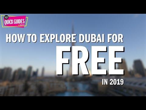11 FREE things to do in Dubai (2019)!
