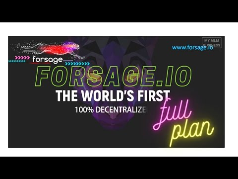 FULL PLAN forsage.io // Ethereum Blockchain // Smart Contract // zoom training // work from home