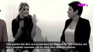 WOW* TV: Sofie Valkiers presents her 'Diamanti Per Tutti' collection