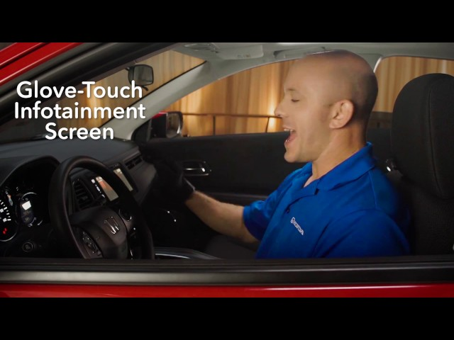 2017 Honda HR-V Tips & Tricks: Glove Touch Infotainment Screen