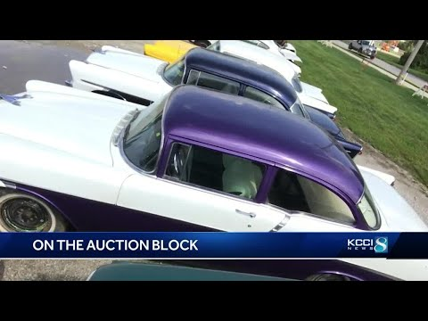 Iowa Man To Auction Of Collection Of 94 Classic Cars
