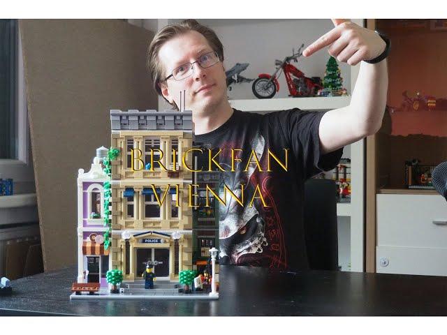 Wer hat den Donut gestohlen? LEGO Modular Building 2021 - Police Station