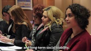 How can education support peace in Lebanon?