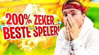 DIT IS 200% ZEKER DE BESTE FORTNITE SPELER OOIT...