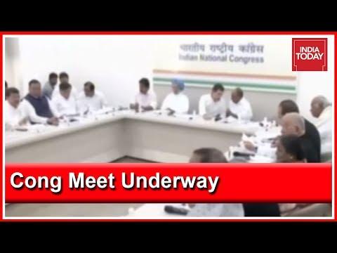 Mega Congress Meet Underway To Finalise Party Manifesto In Delhi