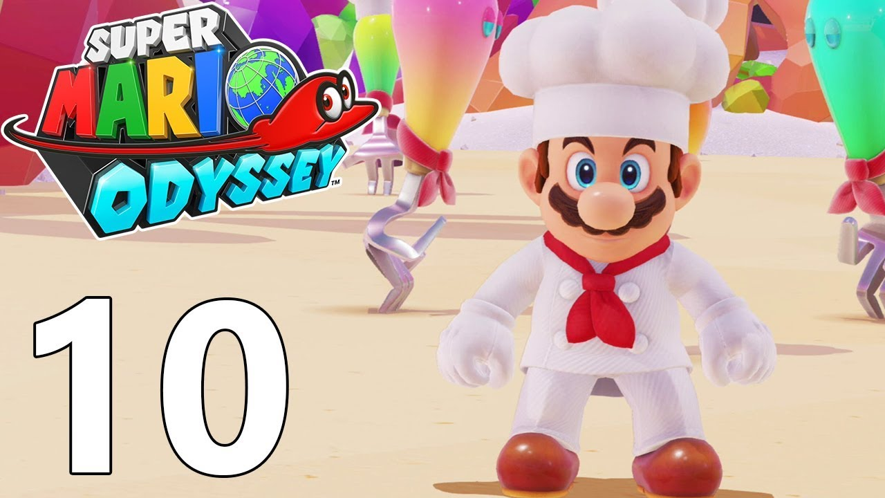 Super Mario Odyssey Fr 10 Pays De La Cuisine Youtube