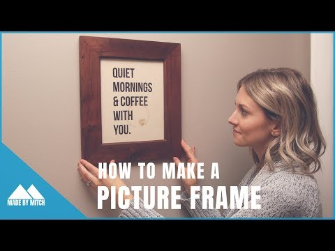 How to make a Picture Frame // Build For Her Collab