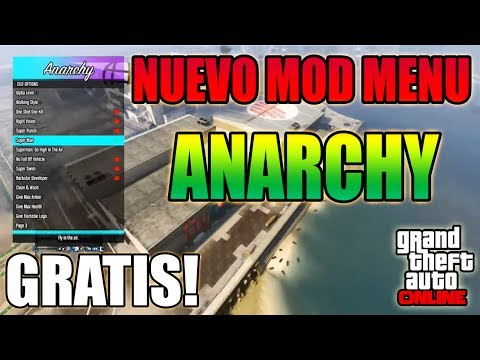 Anarchy Mod Menu Ps3