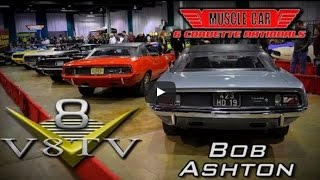 2015 Muscle Car & Corvette Nationals Show Overview with Organizer Bob Ashton Video V8TV