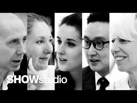 Guo Pei - Spring / Summer 2018 Panel Discussion