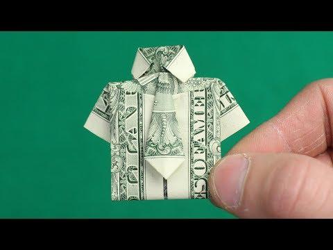 DOLLAR ORIGAMI SHIRT From Mr. Hacker