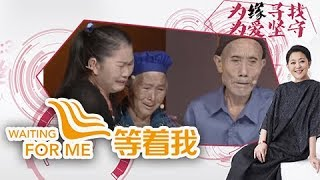 《等着我第三季》 20171128 婚后意外发现婆婆的身世之谜 儿媳一心帮助婆婆找家 | CCTV