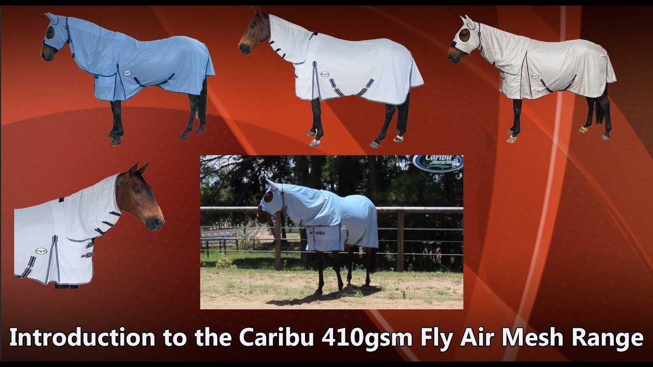 Caribu Fly Air Mesh Horse Rug Range