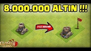 ÇOKLU HAVANI BASTIK !!! | Clash Of Clans