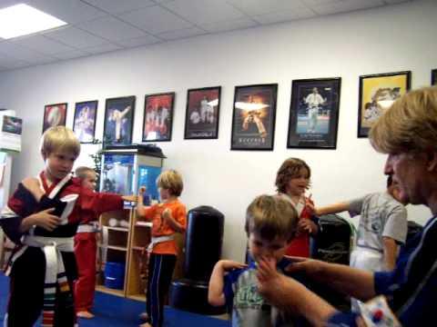 Little Ninjas Rock! Family Martial Arts Center Little Ninja Class part 6