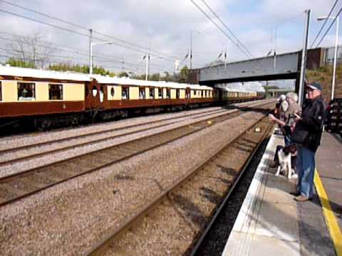 Tornado going through Sandy with pullman coaches on sat 18thApril 2009