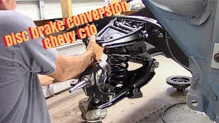 63 Chevy c10 Truck Disc Brake Conversion/ Suspension Installed