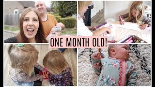 DAY IN THE LIFE: ONE MONTH OLD & TESCO #FUSSFREEFOOD WEEKLY SHOP! (AD) | KERRY CONWAY