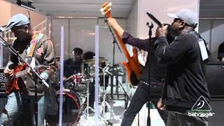 "Living Colour - ""Cult of Personality"" Live at NAMM 2014 BEHRINGER Booth"