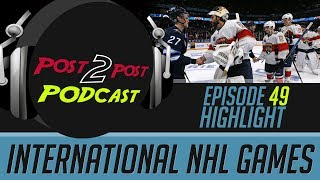 International NHL Games - P2P Podcast #49 Highlight