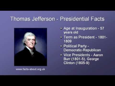President Thomas Jefferson Biography