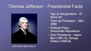 President Thomas Jefferson Biography