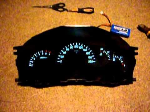 Оптитронная панель приборов своими руками фото 89