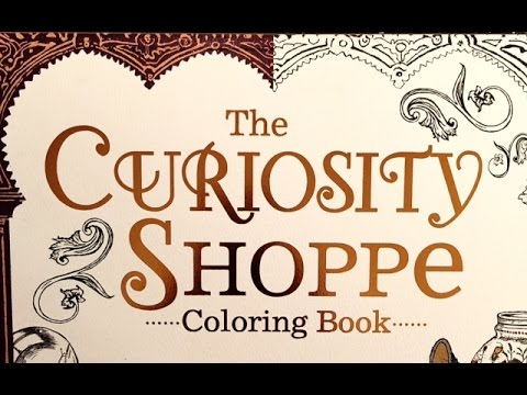 Coloring In The Curiosity Shoppe By Chris Price