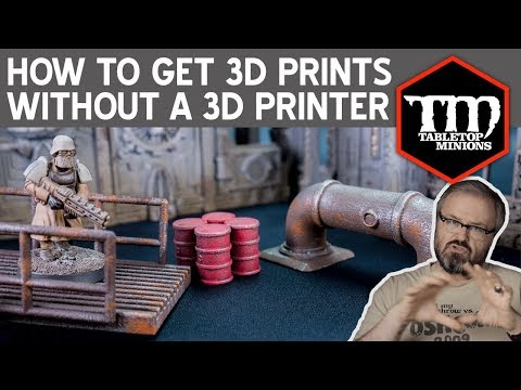 Get 3D Wargaming Prints Without Owning a 3D Printer