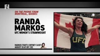 ufc 202 randa markos on cortney casey you can never underestimate who s in our weight class